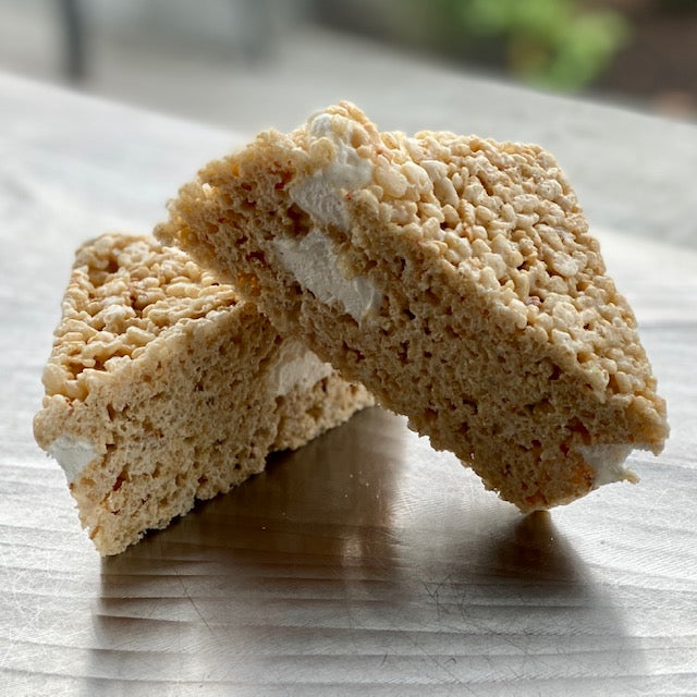 Giant Marshmallow Crispy Treat
