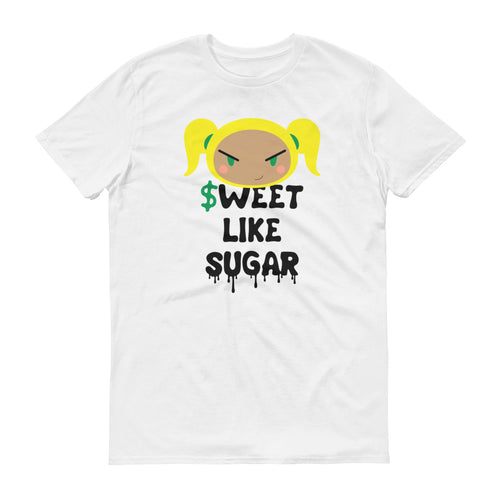 $WEET (White) - Men's Short-Sleeve T-Shirt