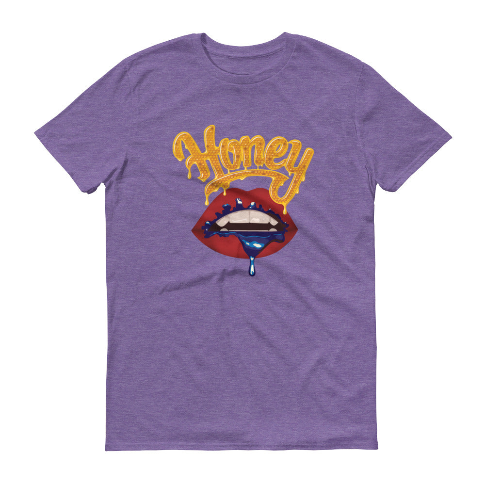 Honey Lips (Purple) - Short-Sleeve T-Shirt