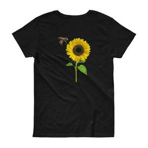 WILDFIRE (Black) - Women's short sleeve t-shirt