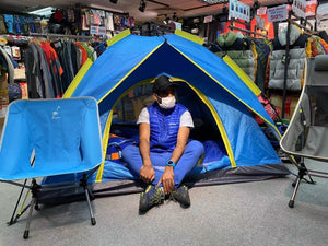 CAMPING TENT - AUTOMATIC