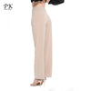 Casual Wide Leg Pants Women Bottom Pants Capris Female Trousers High Waist