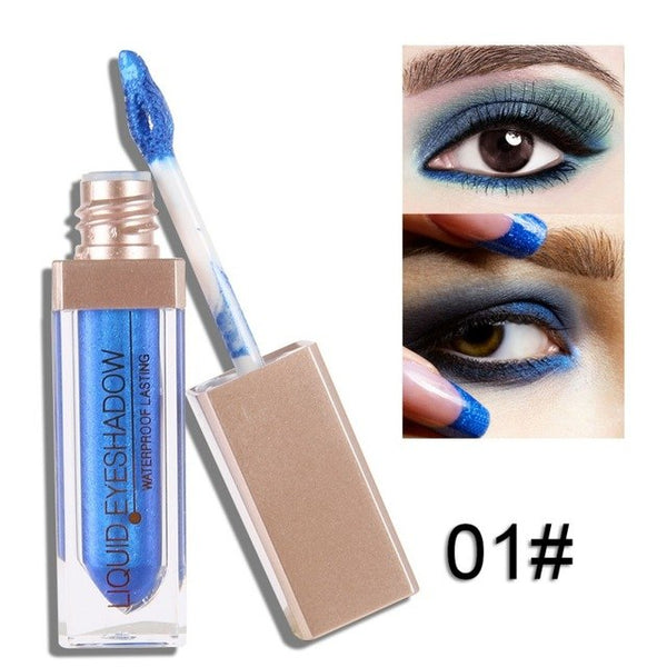 Natural Waterproof Glitter Eye Shadow liquid