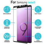 Hot Product 3D Full Cover Curved Tempered Glass Screen Protector For Samsung note 9 6.4 inch 9H Strong Hardness Anti-Scratch