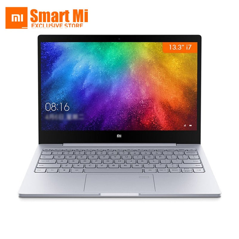 13.3 inch Xiaomi Mi Laptop Notebook Air Intel Core i7-8550U MX150 8GB DDR4 Fingerprint Recognition Windows 10