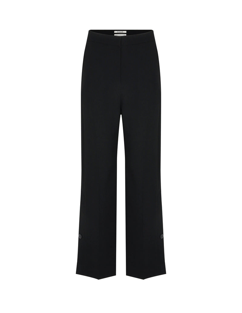 Vented Buttoned Trousers