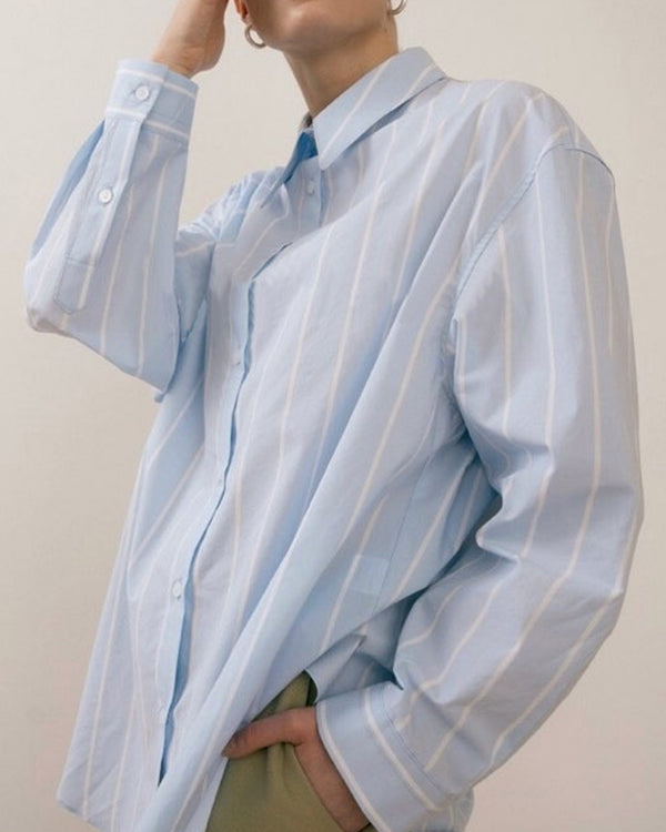 Sanna NY Striped Oversize Oxford Shirt