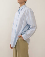 Striped Oversize Oxford Shirt