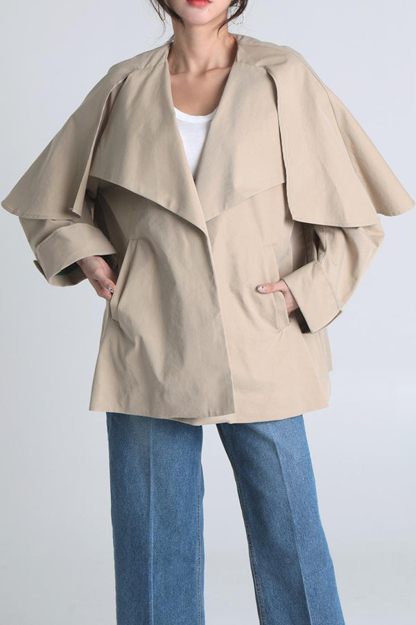 Evelyn Trench Jacket