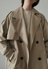 Sanna NY Compass Colorblock Trench