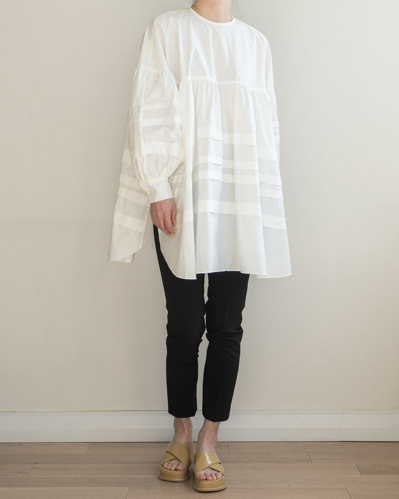 Sanna NY Her Pleated Blouse