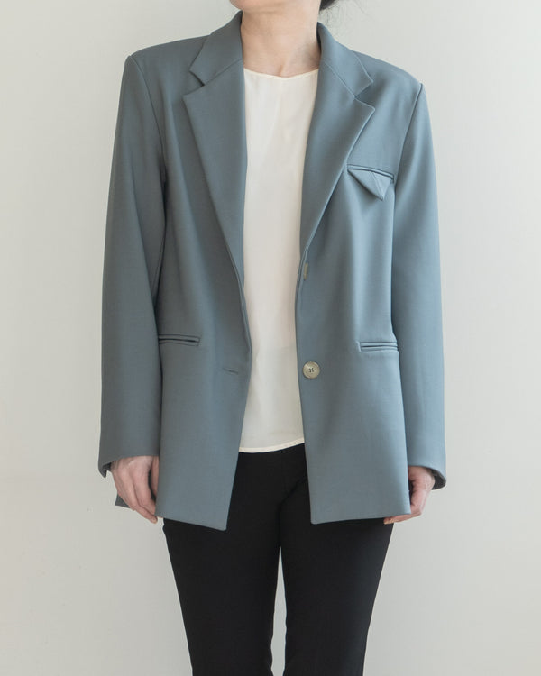 Sanna NY Pointed Pocket Blazer