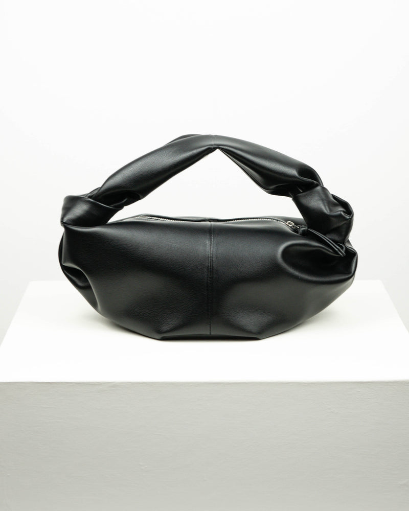 Knotted Tie Leather Bag