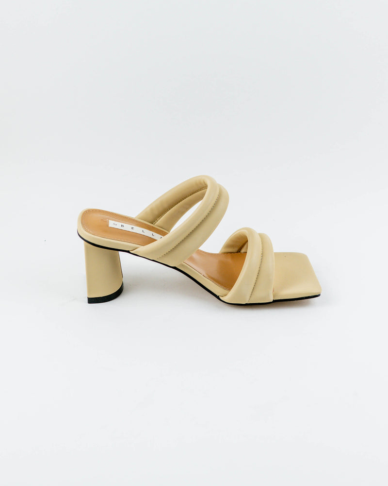 Padded Two Strap Heel