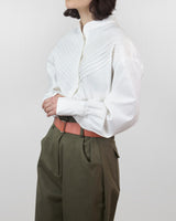 Pleated Bodice Shirt