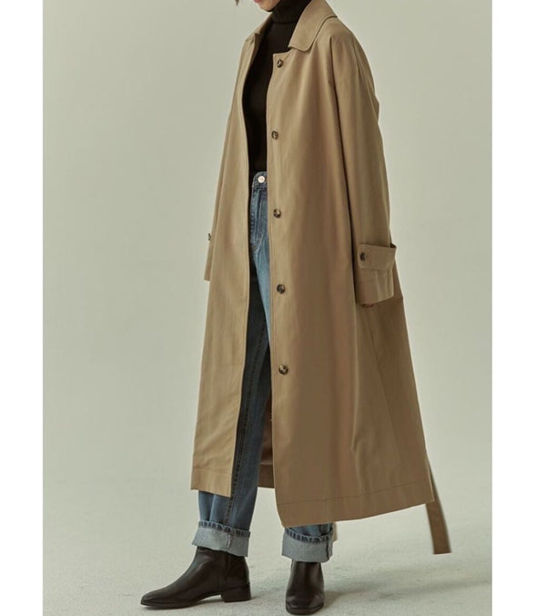 Delaney Trench Camel
