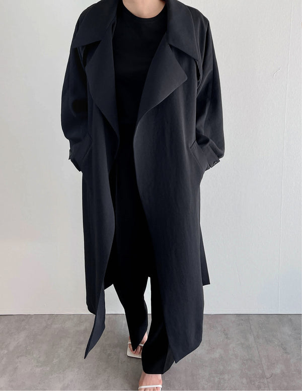 Two Way Trench Deep Navy