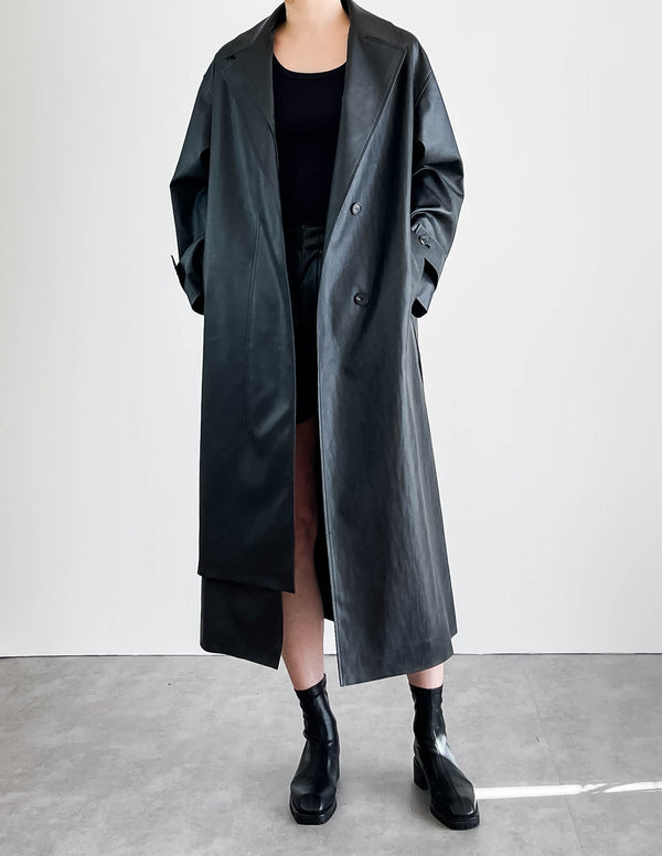Sanna NY Bruni Leather Trench