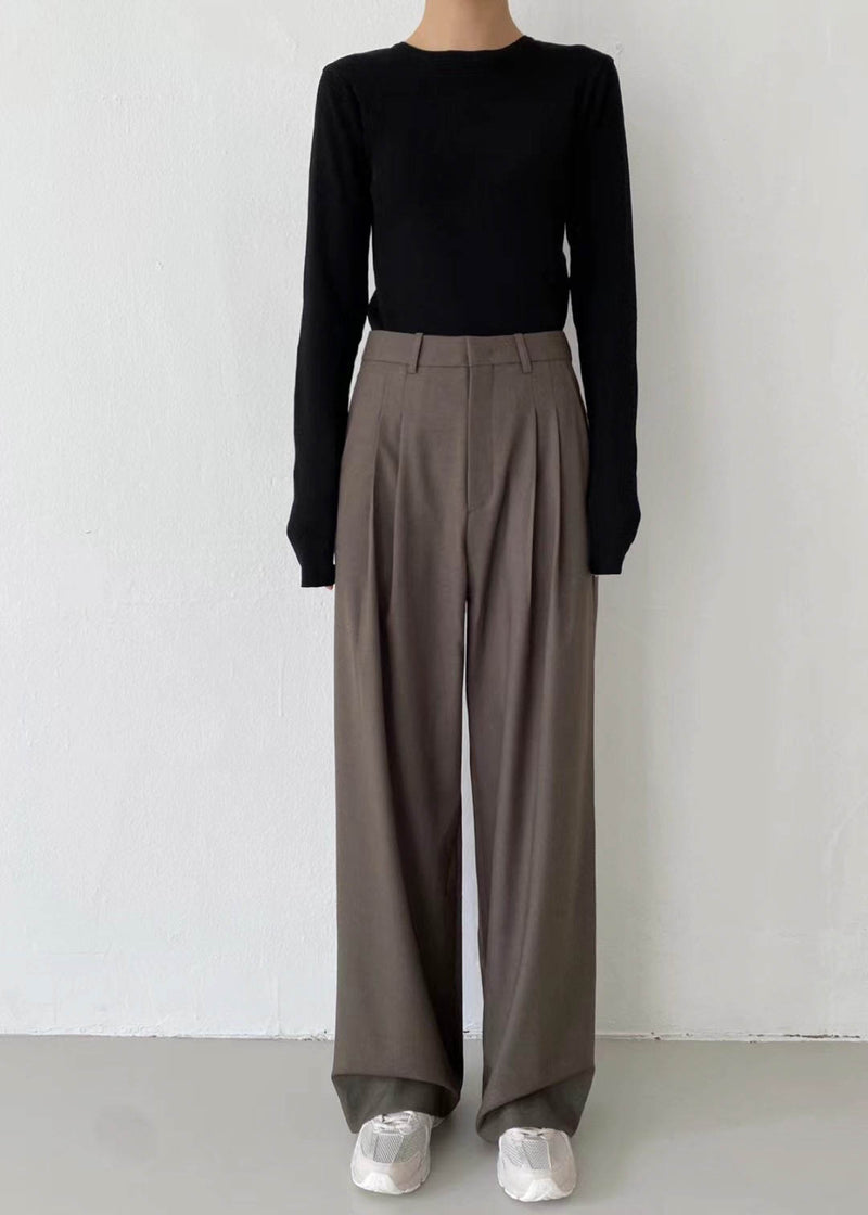FINA TROUSERS BROWN