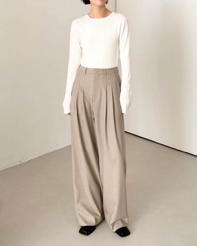 FINA TROUSERS BEIGE