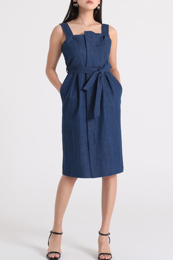 Isla Denim Dress