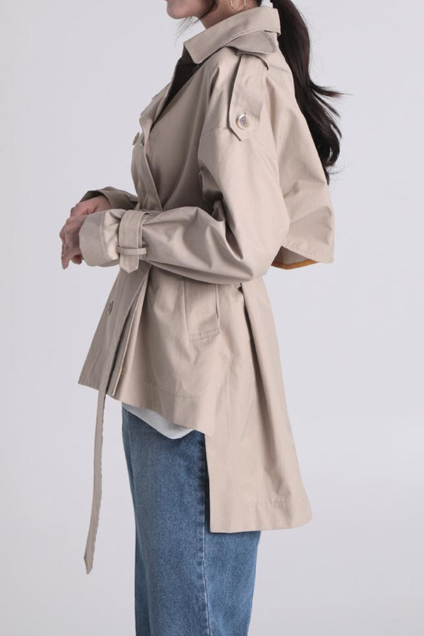 Kayla Hi-Lo Short Trench