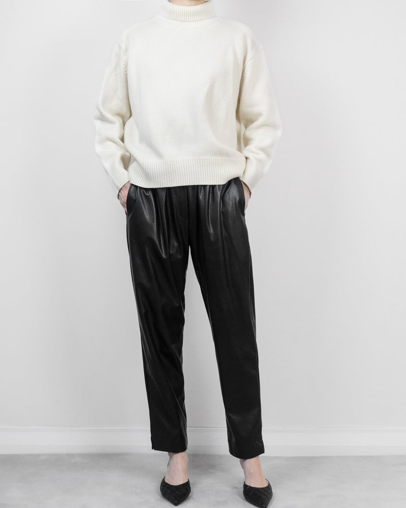 Sanna NY Leather Joggers