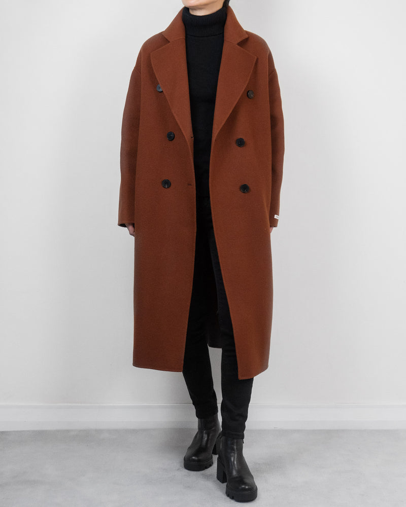 Riley Overcoat in Rust
