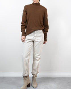 Sanna NY Rust Turtleneck