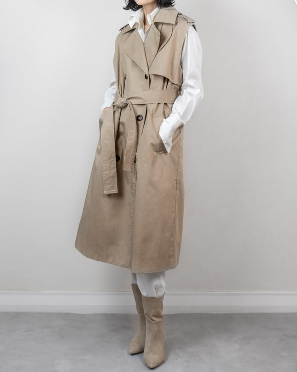 Sanna NY Sleeveless Trench