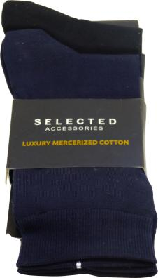 MERCERIZED COTTON 2 PACK SOCK