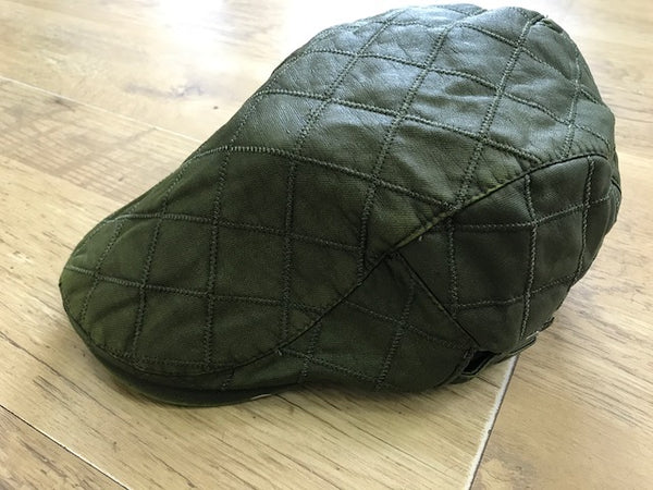 Quilted Ivy Cap