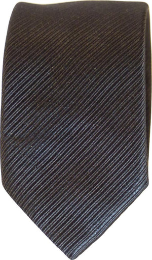 DIAGO SOLID STRIPE SILK TIE