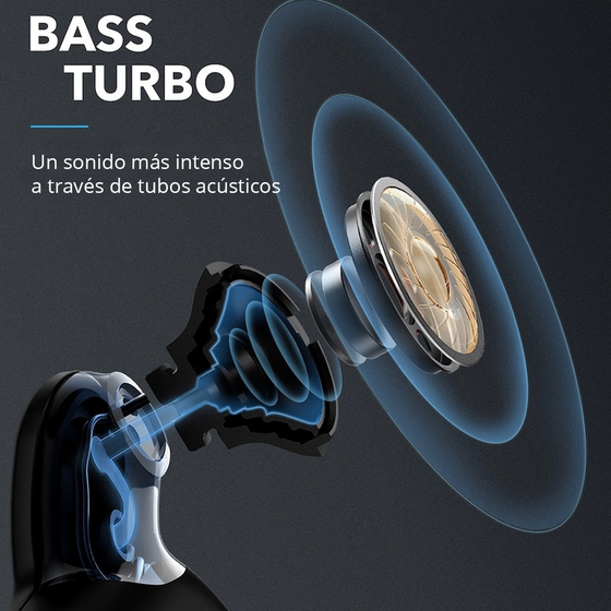 Audífonos Bluetooth Spirit X2