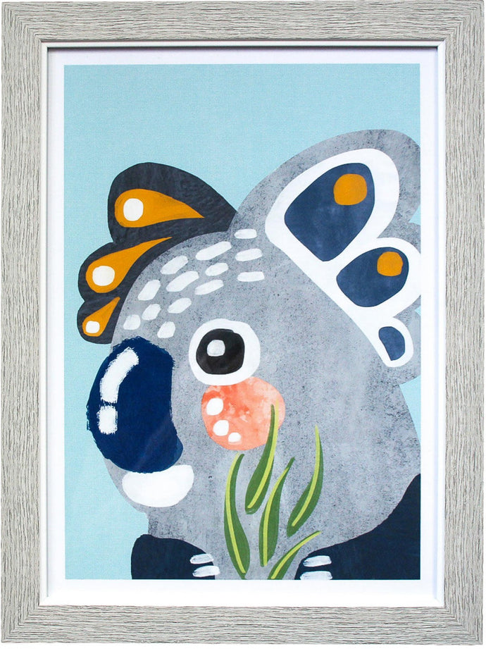 Blinky Framed Print - Only available in store