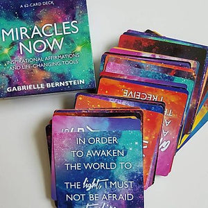 Book Miracles Now Card Deck - Gabrielle Bernstein