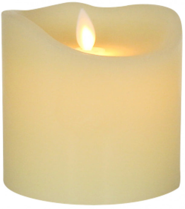 Candle Flameless 11x12cm