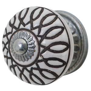 Door Knob White CDK561