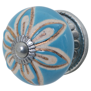 Door Knob Blue CDK666