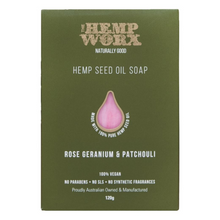 Load image into Gallery viewer, Hemp Worx Soap 120g