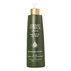 Hemp Worx Body Wash 300ml