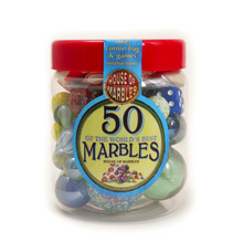 Load image into Gallery viewer, HoM Tub of 50 Marbles