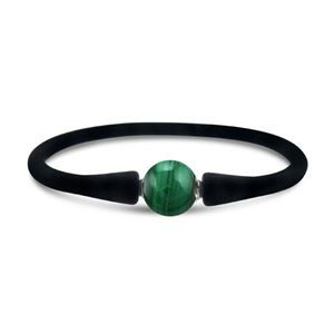Malachite Silicon Bracelet