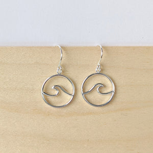 Wave Drop Earrings