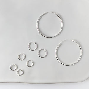 18mm Hoop Earrings