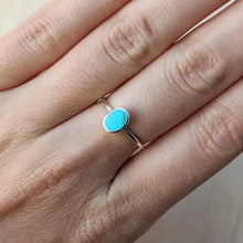 Load image into Gallery viewer, Turquoise Oval Ring