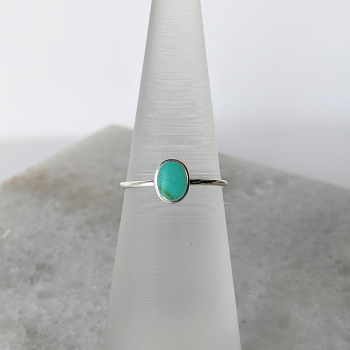 Turquoise Oval Ring
