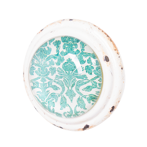 Door Knob Teal Cream MDK1006