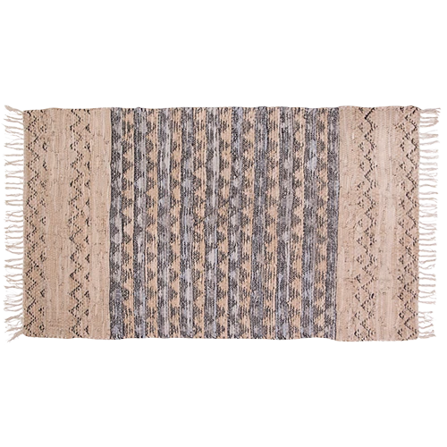 Rug Woven Leather Spruce 60x90