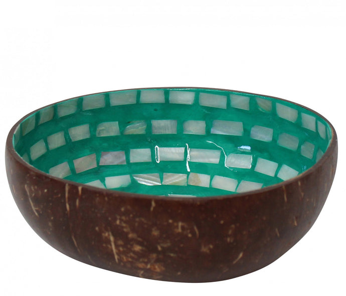 Bowl Coco Shell - Emerald Circular